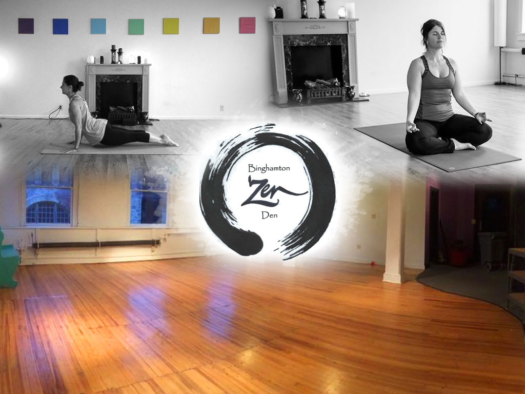 BiziFit Members can Enjoy Yoga at Binghamton Zen Den!