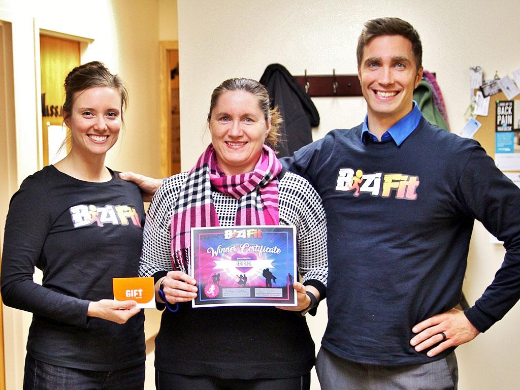BiziFit Valentine's Giveaway Winner