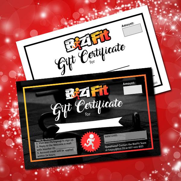 BiziFit Binghamton Gift Certificates