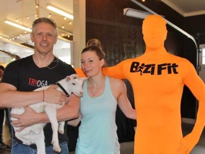 BiziFit Goat Yoga Binghamton TRYoga Winner