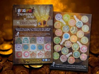 BiziFit Treasure Hunt Badge