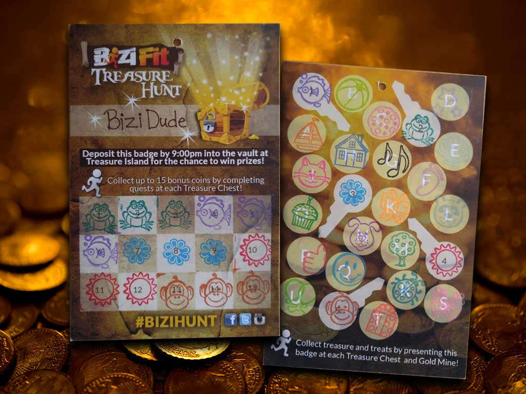 BiziFit Treasure Hunt Badge