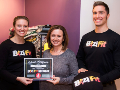 First BiziFit Member Awarded in Binghamton