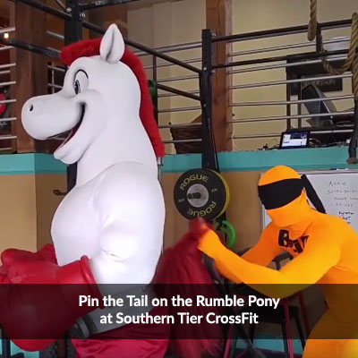 Pin the Tail on the Rumble Pony